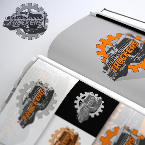 South German Truckers.- Logo Design